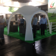 3.2m x 3.2m Gazebo Dayroom Event Shelter (CLEARANCE)